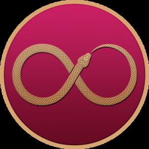 symbols-illuminati-buttons-snake-ouroboros-infinity-color